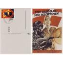 Deutsches Reich Propaganda 1945 Mi.909-910 auf Feldpostkarte