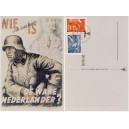 Norske Legion auf Feldpostkarte mit Sonderstempel