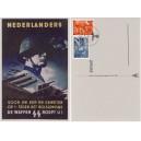 SS Propaganda II Legion Niederland Nr 403-403 Feldpostkarte Sonderstempel