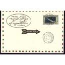ITALIA posta aera 1930 Nr. 361 carta postale nach RIO DE JANEIRO Nachdruck