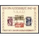 Saarland Hochwasserhilfe 1949 Block 1 Replica