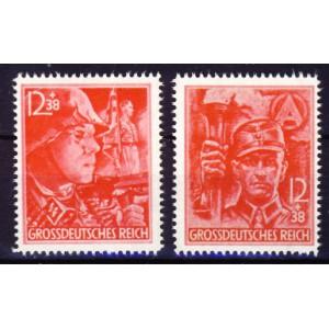 Deutsches Reich 1945 Nr. 909-910