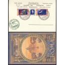 ITALIEN Luftpost 1930 MiNr. 361 auf Blanco Karte nach RIO DE JANEIRO Nachdruck