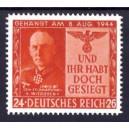 Propagandafälschung für GB Nr. 1+2 auf Sonderblatt gestempelt REPLICA