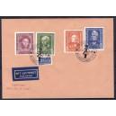 Bund 1952 Posthorn 50 Pf und 70 Pf FDC Brief Replica