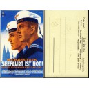 Bund 1951 Posthorn 6,8,15 und 25 Pf FDC Brief Replica