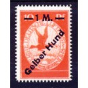 Deutsches Reich 1912 Flugpost Gelber Hund Nr. IV (*)