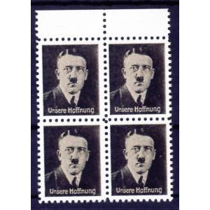 """Propagandafälschung Hitler """"Unsere Hoffnung, """"our hope"""""""